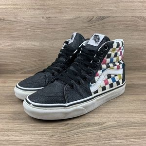 Vans Hi Tops Glow Old Skool Sneaker
